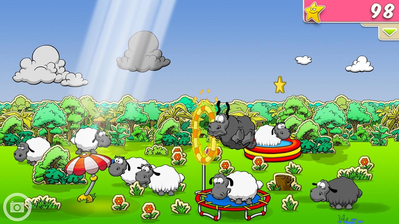 Clouds sheep скачать бесплатно на компьютер