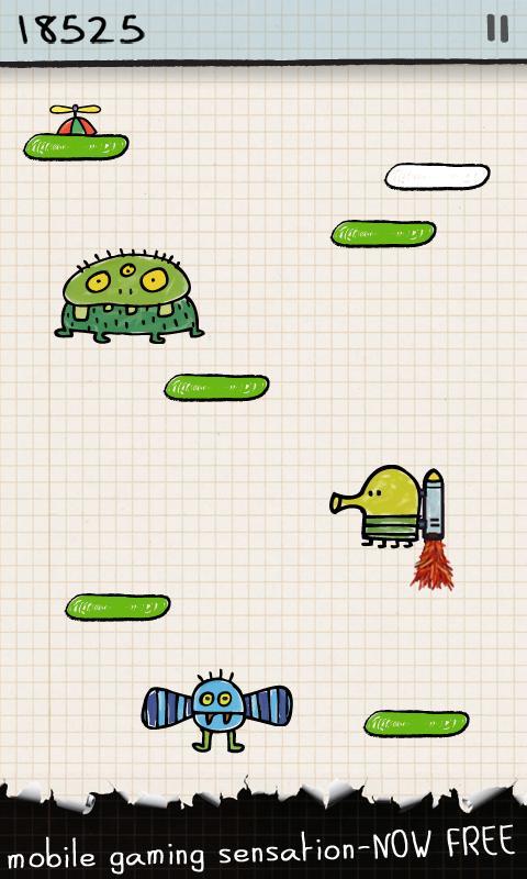 Скачать бесплатно игру на компьютер doodle jump