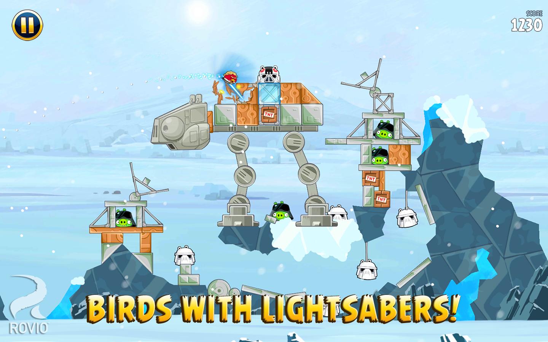 Скачать angry birds star wars ii free 1. 9. 25 для android.