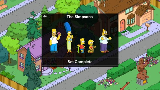 The Simpsons: Tapped Out 4.32.1. Скриншот 3