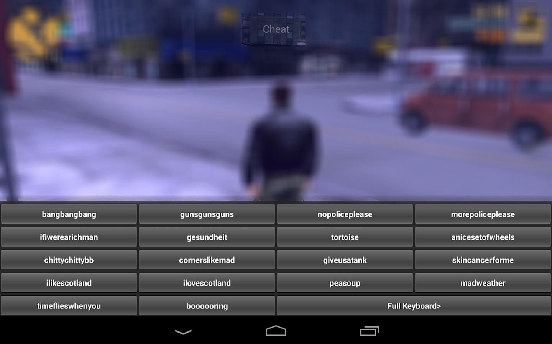Скачать GTA III Cheater 1 8 для Android