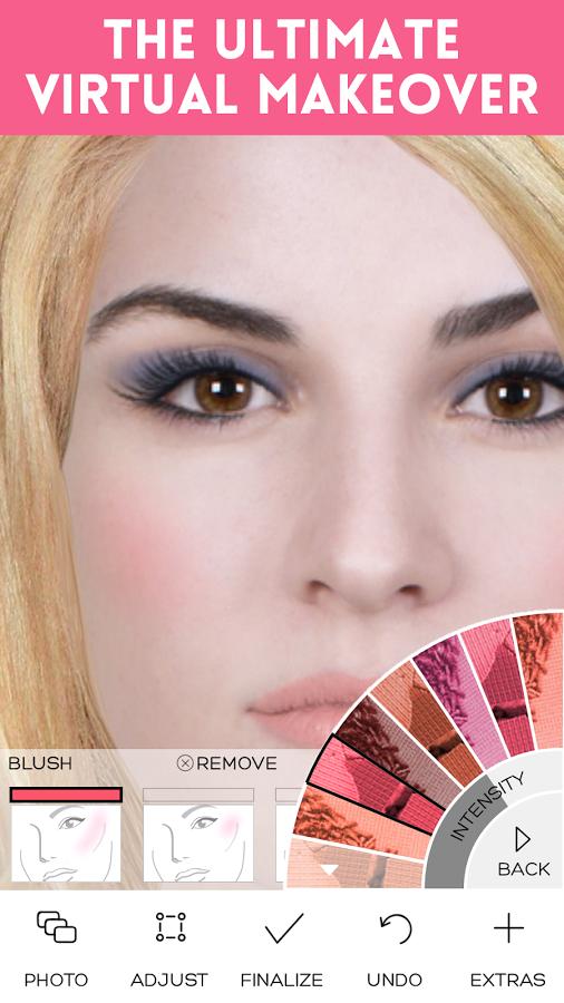 Скачать программу макияж на телефон