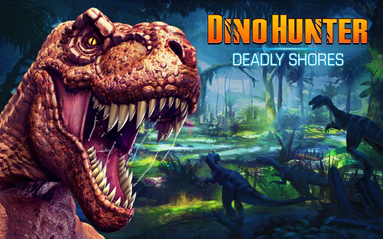 Dino hunter. Охота на динозавров на андроид. Youtube.