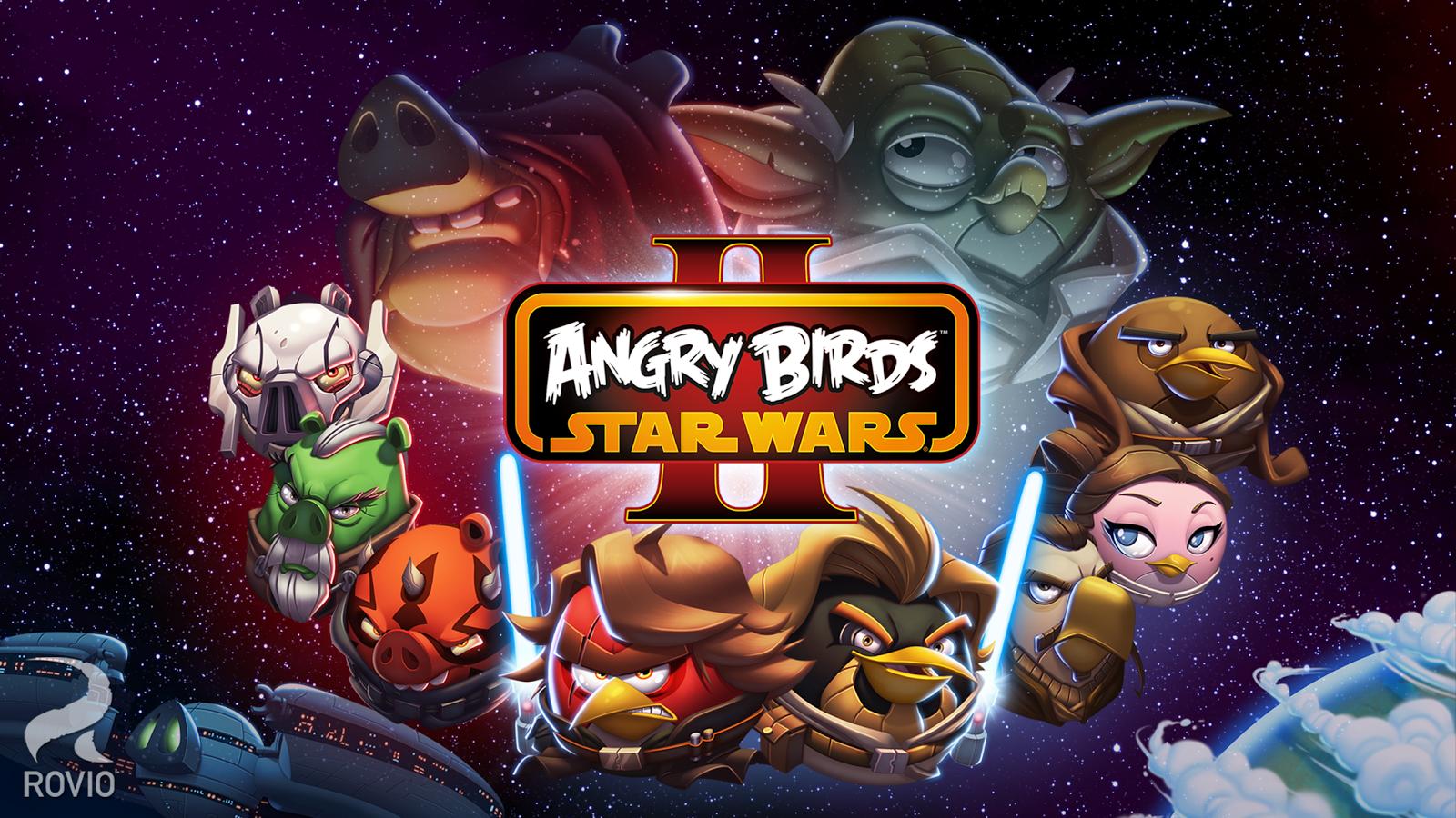Angry birds star wars 2 для windows 10 mobile и windows phone.