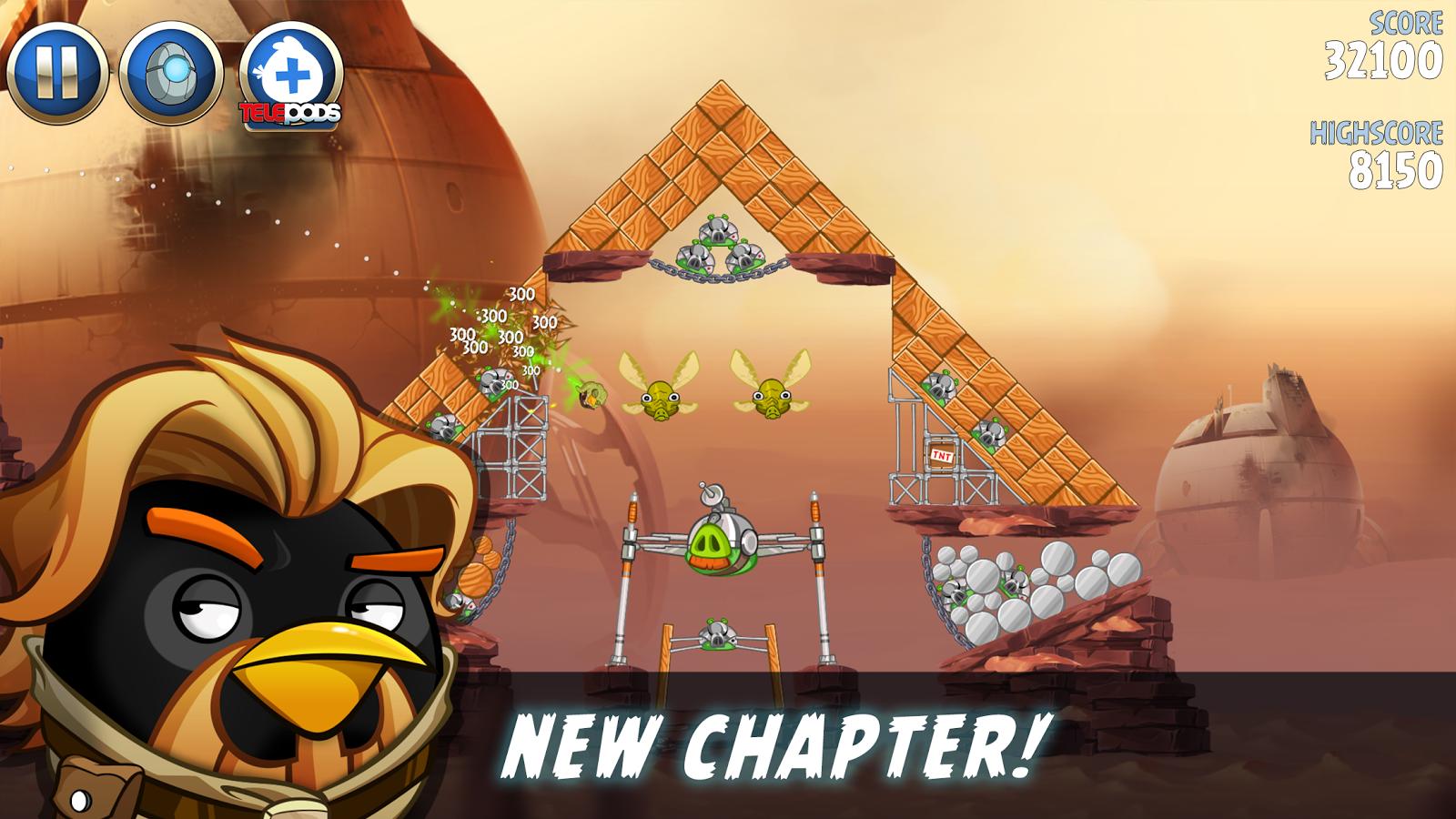 Скачать angry birds star wars ii. Apk-игра злые птички звездные.