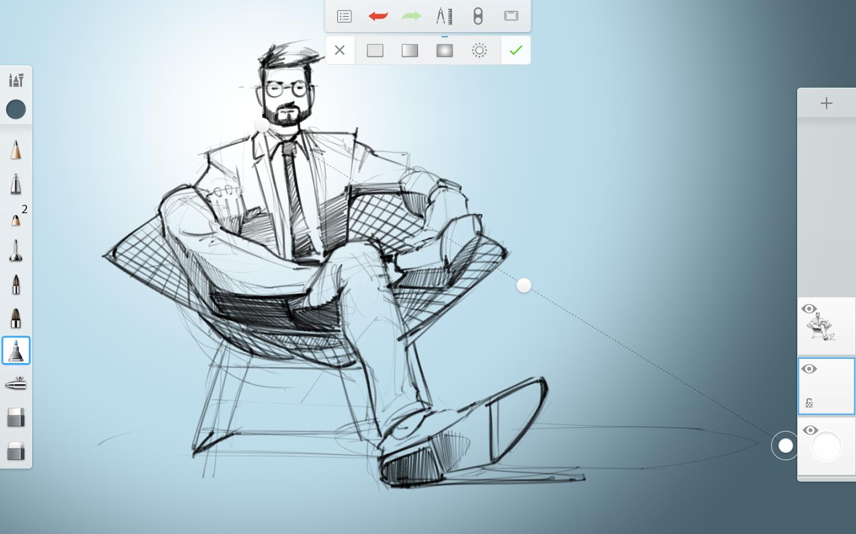 Скетчбук программа для рисования скачать бесплатно