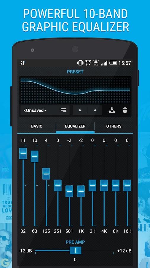 Музыкальный плеер с анимацией винилового проигрывателя на андроид.