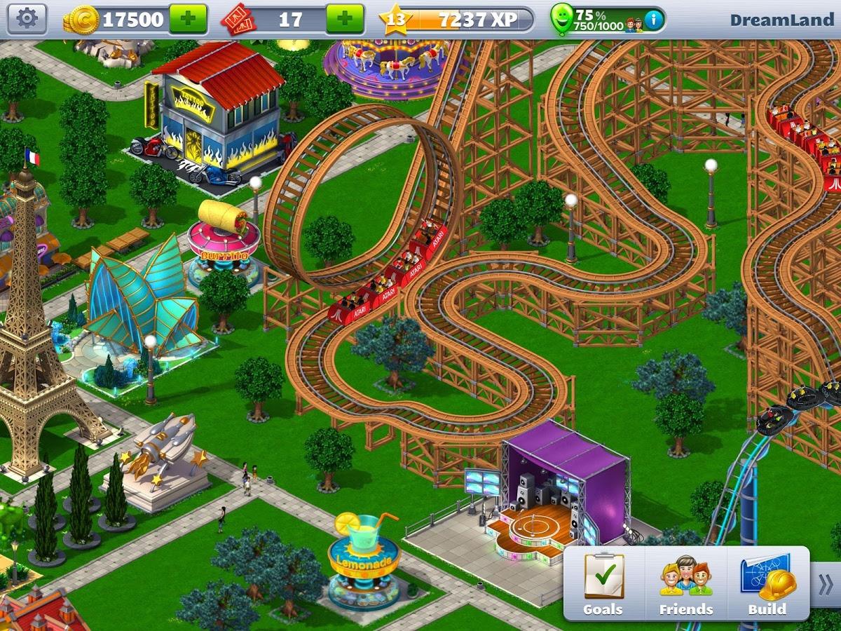 Скачать rollercoaster tycoon 4 на пк