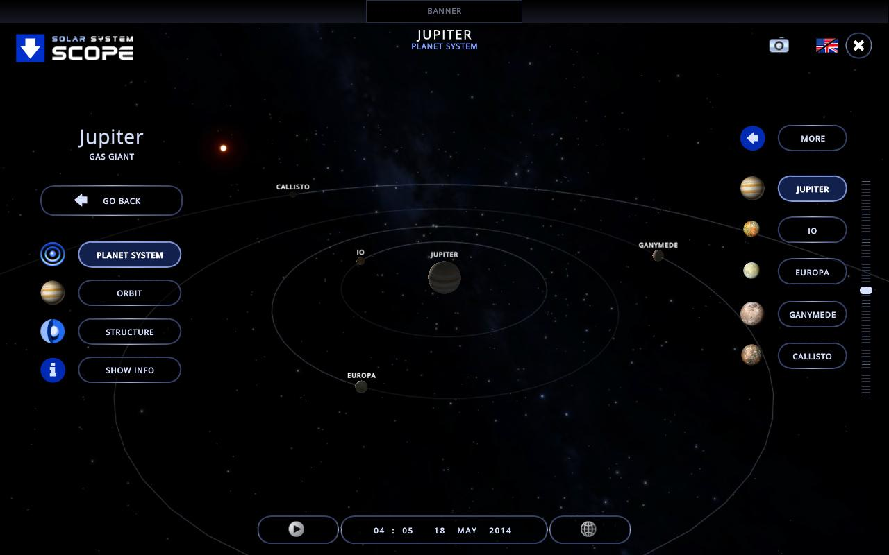 Cкачать Solar System 3D 1.16.2 (Windows)