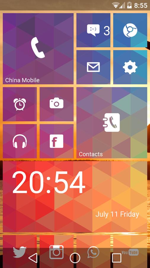 Скачать metro ui launcher 8. 1 2. 4. 731 для android.
