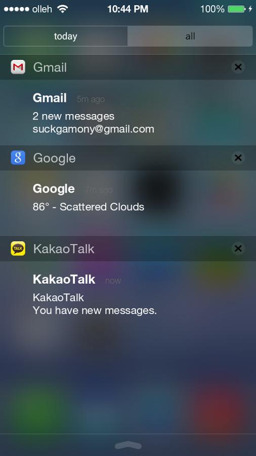 Install android l navigation bar & ios 8 status bar on lg g3.