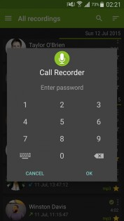 CallRecorder 0.3.5. Скриншот 0