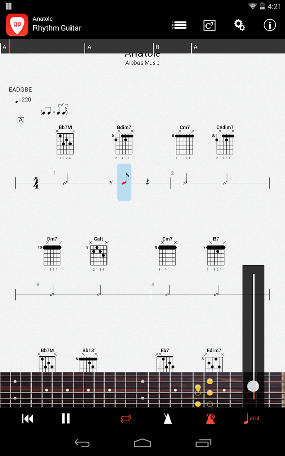 guitar pro 5 табулатуры: