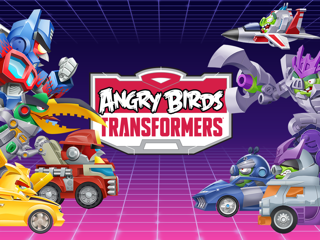 Angry Birds Transformers скачать 1325  МОД на Android