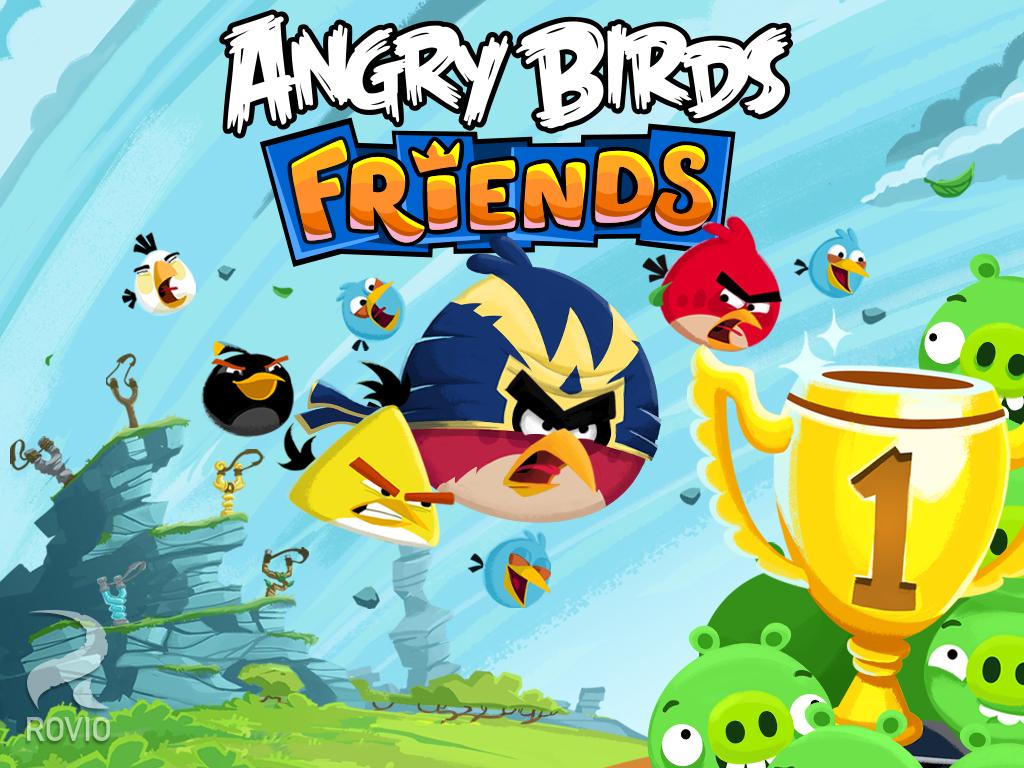 Скачать Скачать Angry Birds: Seasons на Андроид бесплатно