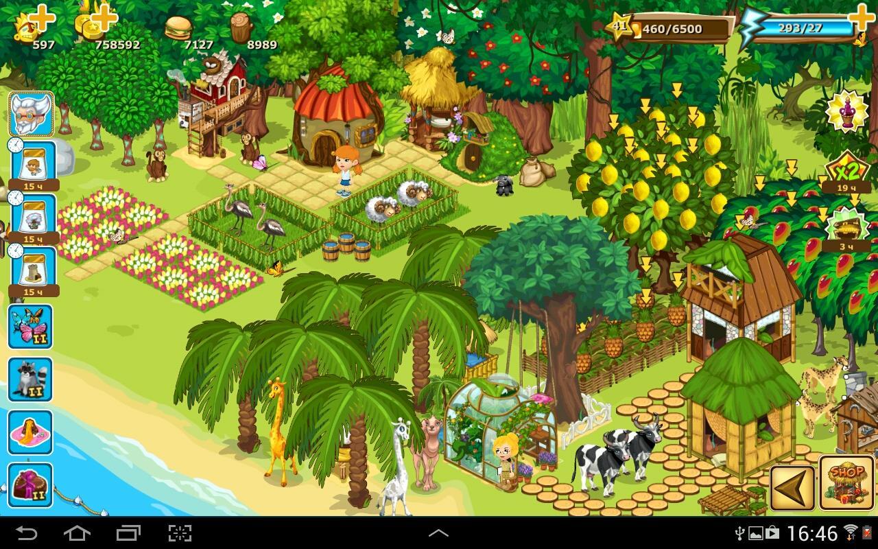 Игра Paradise Island Android