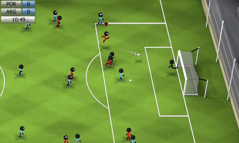 Скачать stickman soccer 2018 на компьютер