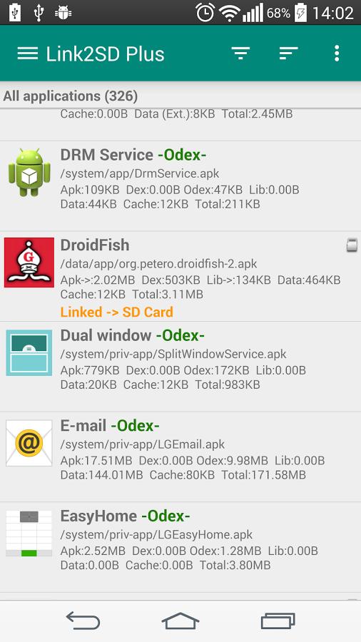 скачать программу link2sd бесплатно