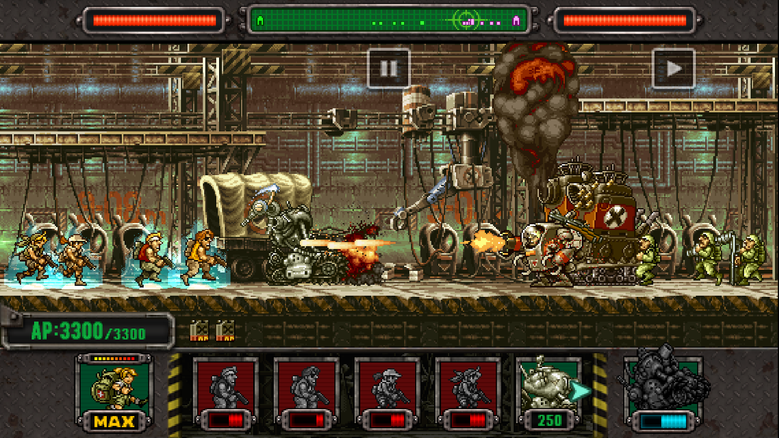 Metal slug defense в steam.