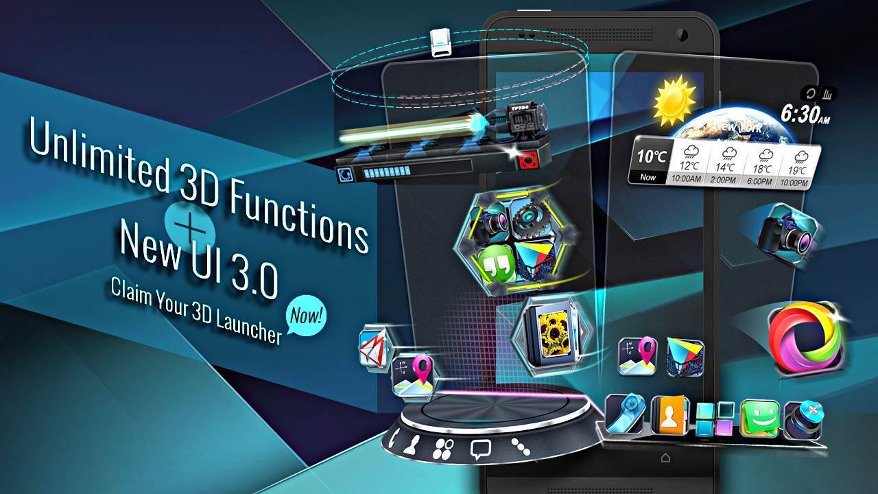 Скачать 3d лаунчеры для андроид