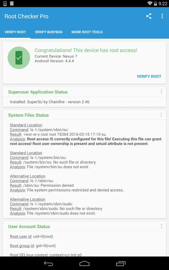 скачать бесплатно взломанную программу rootchecker для андроид