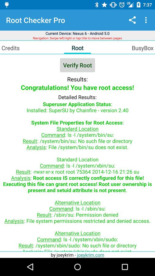 скачать root checker pro