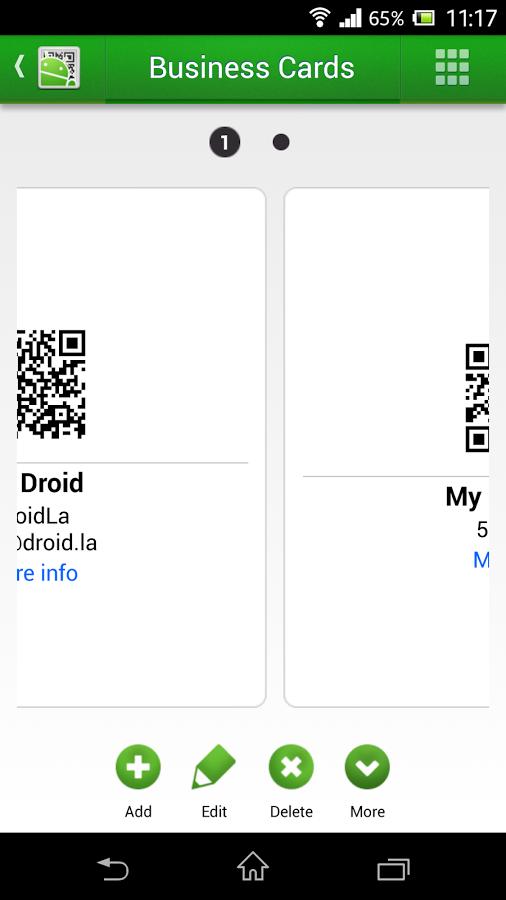 Скачать программу qr droid