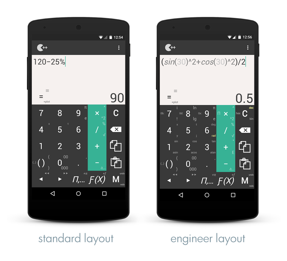 Калькулятор на андроид с процентами скачать.