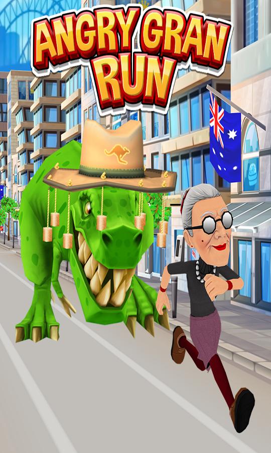 скачать игру angry gran run на андроид с бесконечными деньгами