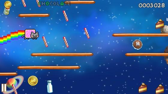 Nyan Cat: Lost In Space 9.6.3. Скриншот 2
