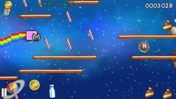 Nyan Cat: Lost In Space 10.1.6. Скриншот 10