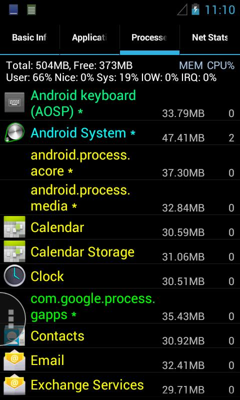 Android system info - фото 4