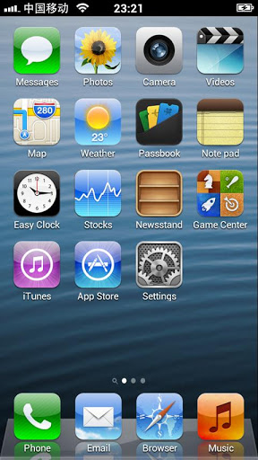 iphone 5 launcher скачать iphone 5 launcher 1 4 5 для android 11005