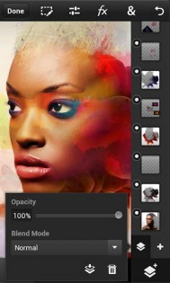 Photoshop Touch for phone 1.3.7. Скриншот 2
