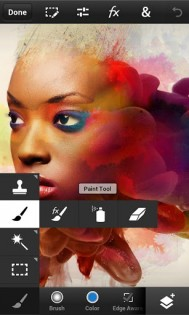 Photoshop Touch for phone 1.3.7. Скриншот 3