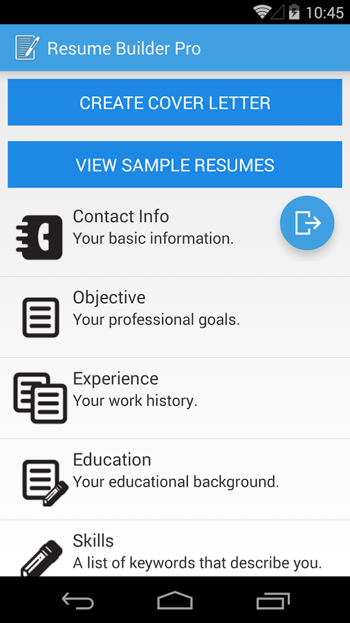 resume builder pro screenshot free best free home