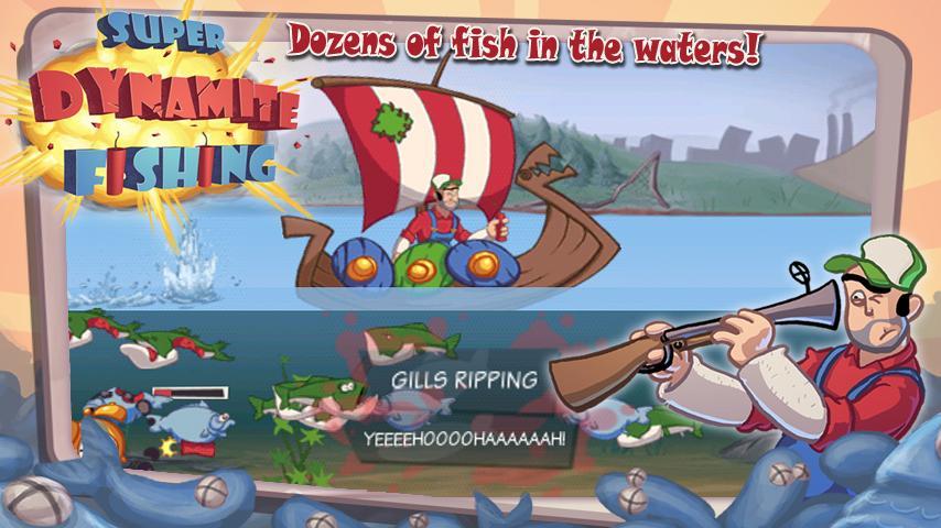 Dynamite fishing скачать на пк