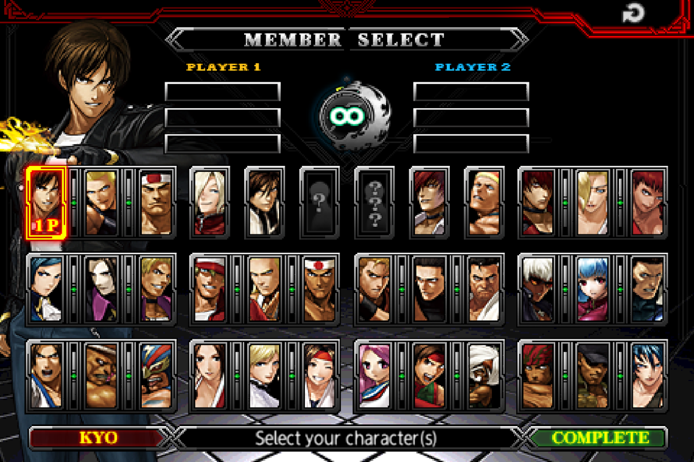 Download the king of fighters 10th android games apk 4407793.