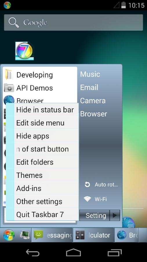 Taskbar Для Windows 7