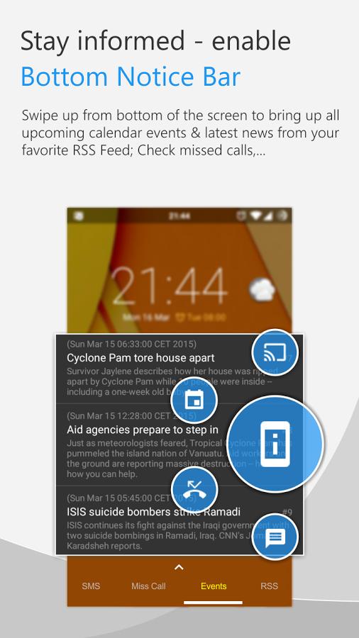 Программы для блокировки экрана при разговоре на андроид