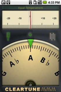 Cleartune - Chromatic Tuner 0.5.1. Скриншот 0