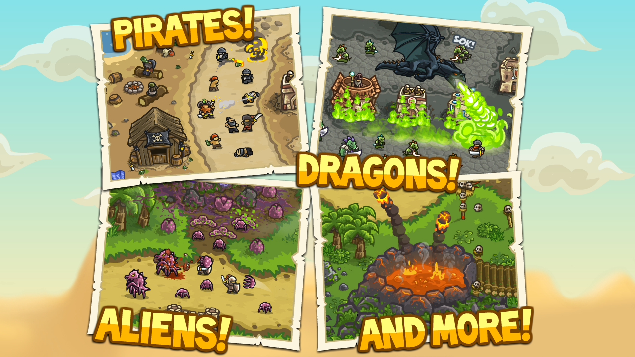 Game Kingdom Rush Origins APK for Windows Phone