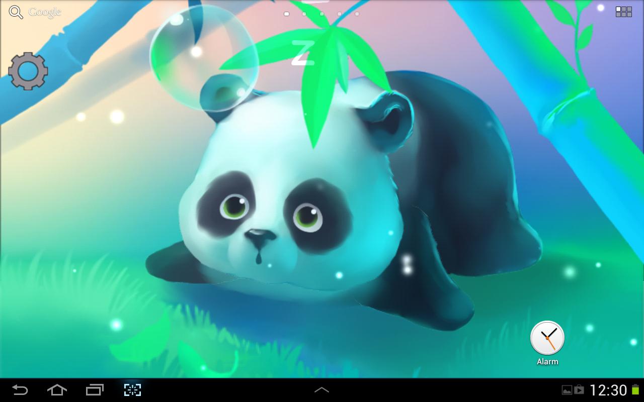 Bamboo panda 1 0 0 android - Panda anime wallpaper ...