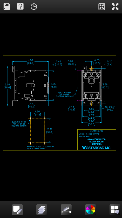 Dwg Fastview Cad Plan Viewer 2 4 3 Android