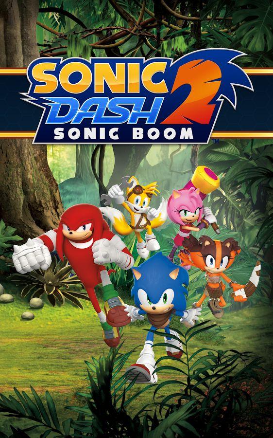 Скачать бесплатно игру sonic dash 2 sonic boom