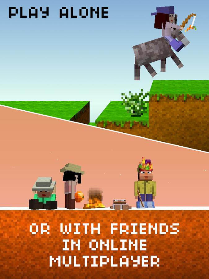 скачать на андроид игру The Blockheads - фото 7