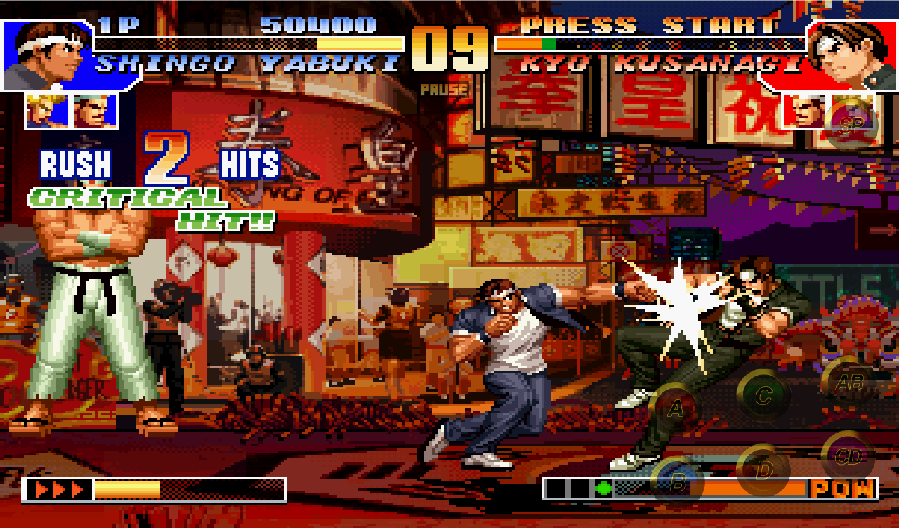 Скачать the king of fighters 2003 android games apk 4638347.