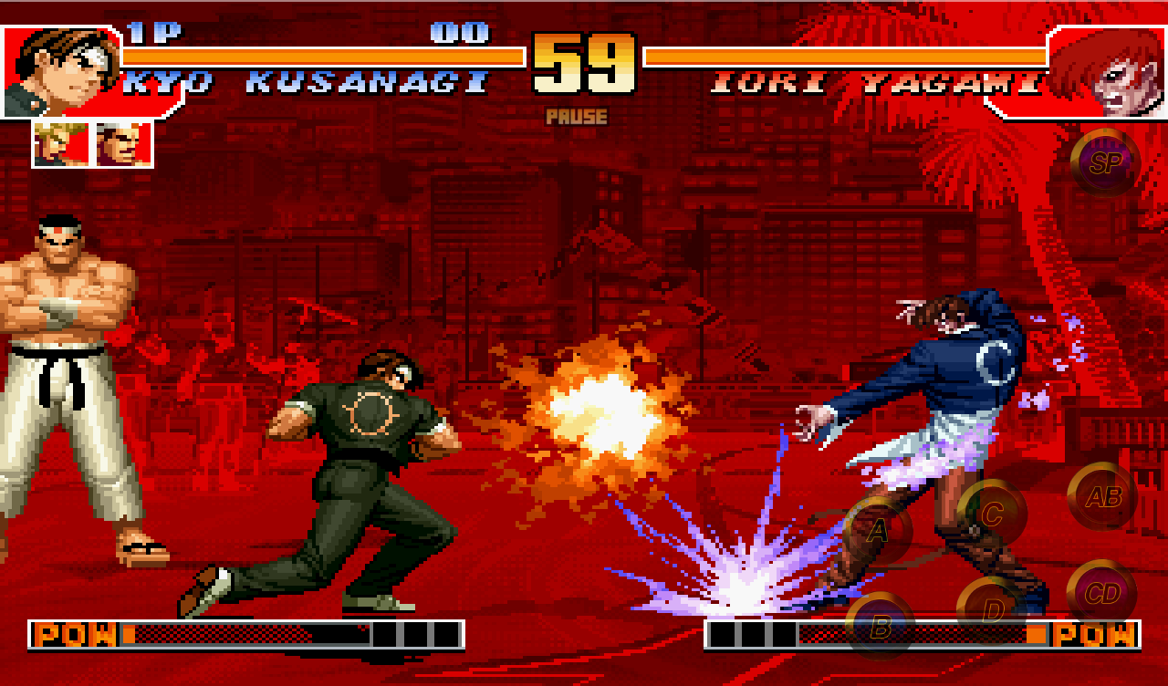 The king of fighters скачать