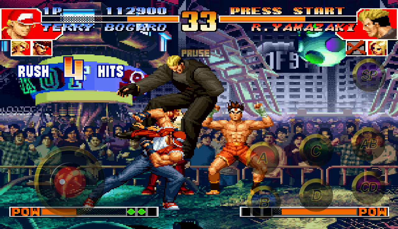 Download the king of fighters 99 android games apk 4666875.
