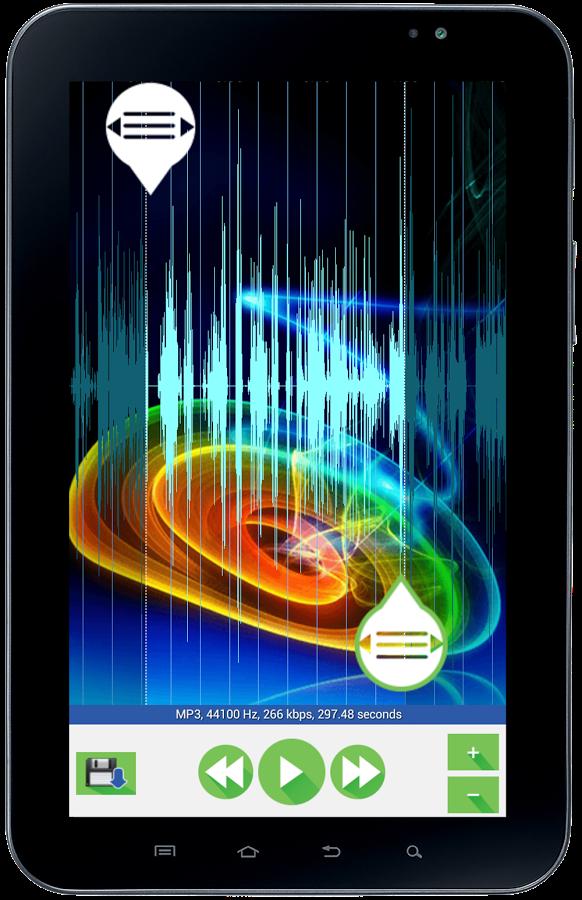 Приложение для телефона нарезки музыки